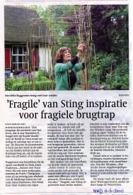 how fragile in de krant