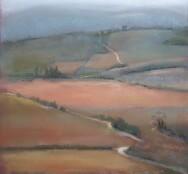Winterlandschap bij Vézelay